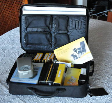 Inside the case