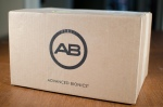 AB shipping box - more fun than one from Amazon!